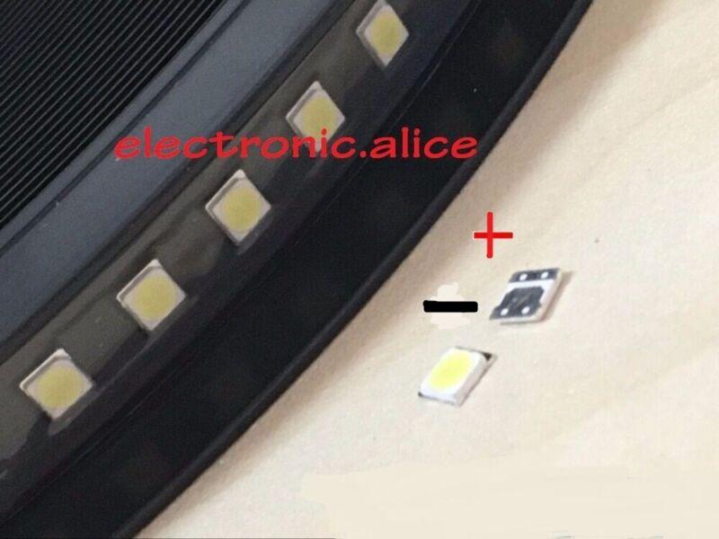 100pcs 6V FOR LCD TV repair  led TV backlight strip light-diode 3535 SMD LED