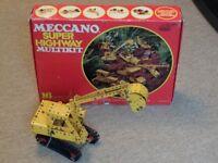 Meccano Super Highway Multikit Set (Vintage 1970s)