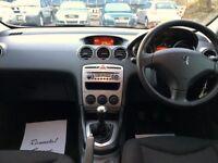 2010 Peugeot 308 1.6 Hdi Diesel hatchback LOW MILES 68000 Full Service History, Mot'd, LOVELY CAR !!