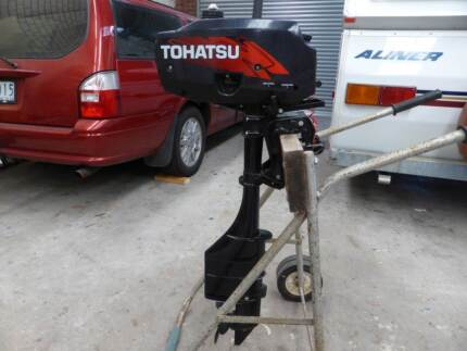 Outboard Motors - Tohatsu 3.5 hp Long Shaft or Mercury 3.3 hp West Melbourne Melbourne City Preview