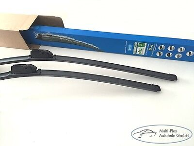 1 Paar 600mm/550mm Flextechnologie Flex - Scheibenwischer Flachbalkenwischer NEU online kaufen