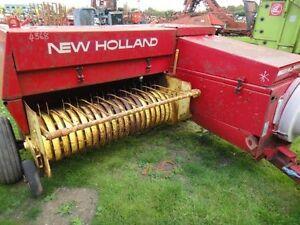 New Holland 370 Hayliner Baler Parts Manual