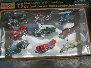 MOTORCYCLE MODELS  ..NEW - UNIQUE READY TO DISPLAY