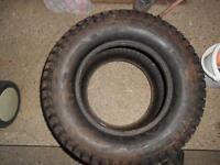 "4- carlisle tires  (24x12.00-12"") asking 50 each obo"
