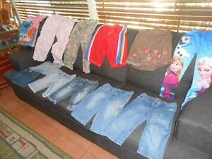 Girls size 6 Summer bundle- shorts, pants, 1 skirt and t-shirt Greenbank Logan Area Preview