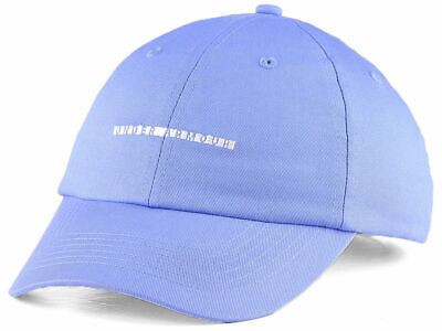 UNDER ARMOUR FREE FIT WOMEN'S BLUE WORDMARK CAP HAT STRAPBACK *SHIPS IN BOX*