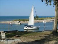 Port Franks Waterfront Cottage; SPECTACULAR Lake Huron View