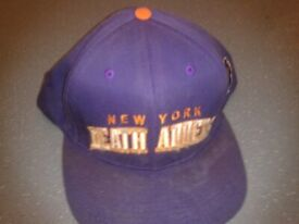 3f9973fb05edf Vintage Used Mishka New York NY Death Adders Purple Orange Starter Snapback  Cap Hat Bear Nike