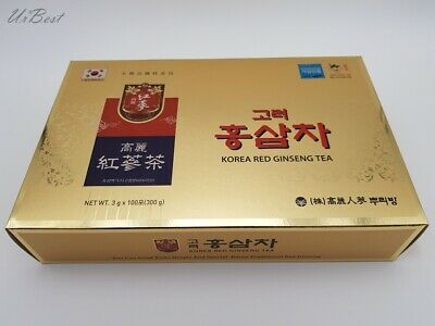 Anti Stress Fatigue Korean Red Ginseng Extract Ginseng Root Tea 3g x 100bags