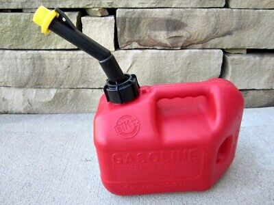 Blitz 1 Gallon 4oz Gas Fuel Can With Vented Fixed Spout 50805 Usa