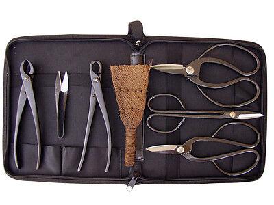 Bonsai-Werkzeug-Set, 7 teilig plus Tasche (225[1])