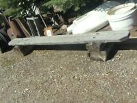 Clearance price Rustic Bench $75.00 each