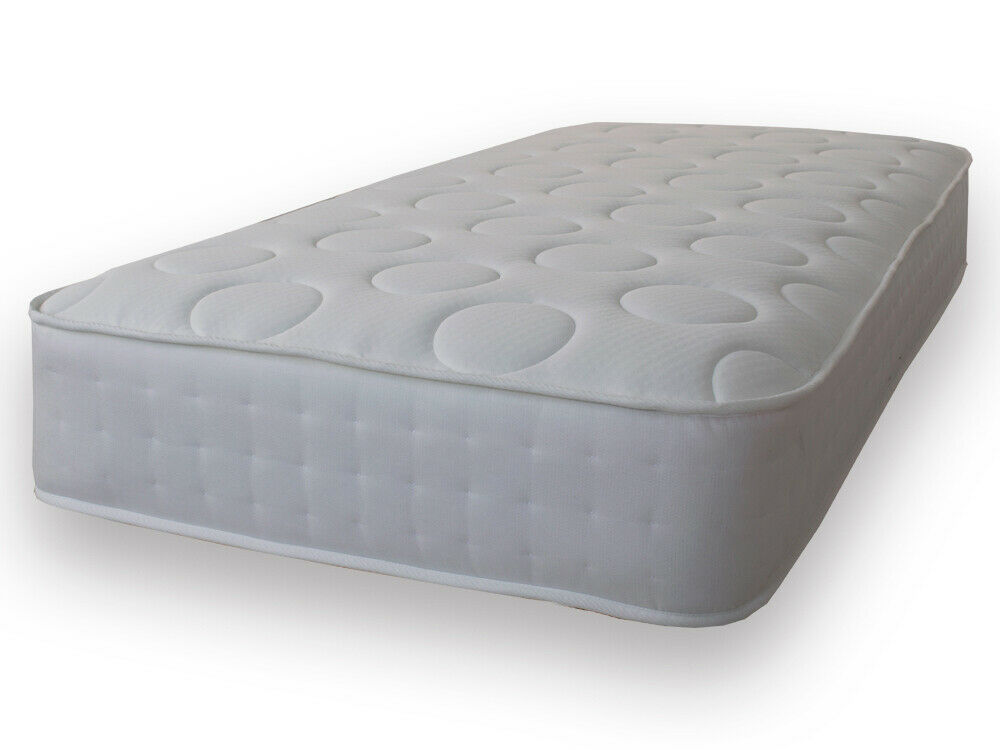 3 Tac Deluxe Quilted Sprung Memory Foam Mattress 2ft6 3ft 4ft 4ft6 Double 5ft Ebay
