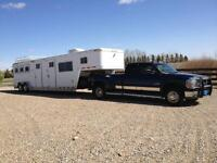 Horse Trailer and Truck Package