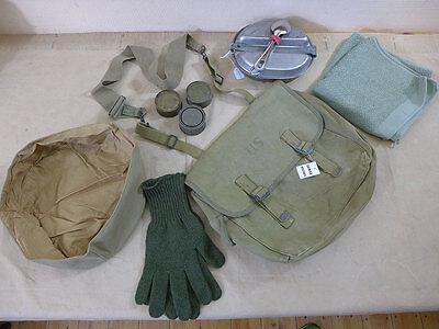 US ARMY WW2 M1936 MUSETTE BAG Tasche + Essbesteck Faltschüssel Kochgeschirr .. gebraucht kaufen  Deutschland
