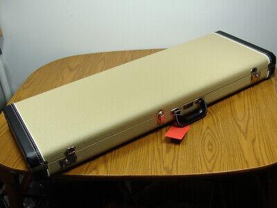 Vintage RI Fender Strat Tele G&G BLONDE HARDSHELL CASE Stratocaster Accessories!