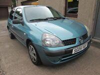 RENAULT CLIO RUSH AUTHENTIQUE 8V -- 12 MONTHS MOT INCLUDED -- (blue) 2005