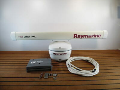 Raymarine 4kw 48'' SHD Digital Open Array Radar ADD-ON E52081 Great -