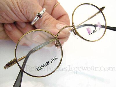Round Metal John Lennon WALRUS Style Eyeglass Frames Eyeglasses by Profiles 1