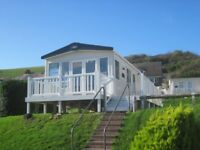For sale new static caravan holiday home sited decking Devon. Payment options available!