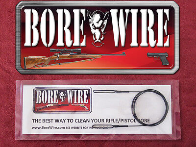 Hoppe's Bore Snake Alternative - Bore Wire HD - Cleans all calibers .17 & up