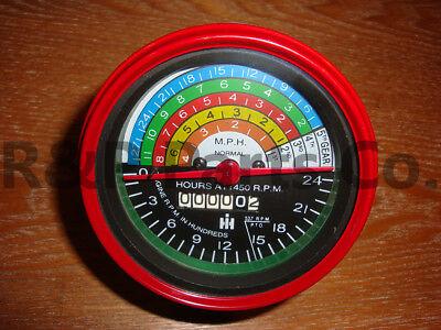 Tachometer For Farmall Ih 400 450 W400 W450 Diesel Anti Clockwise 364395r91