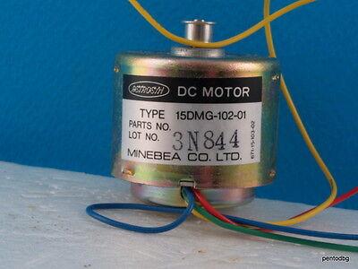 1pcs Minebea Japan Astrosyn Dc Motor Stepper 15dmg -102-01 Nos Never Used Rare