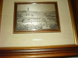Catraro Goffredo Framed Art Picture Painting Sterling Silver