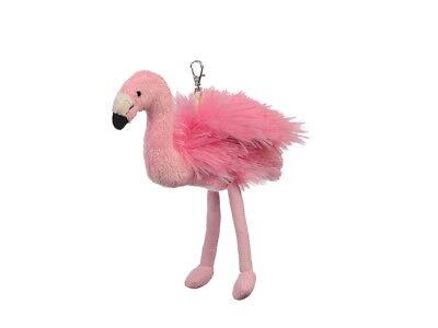 Neuware Schlüsselanhänger Vogel Flamingo ca. 17cm groß
