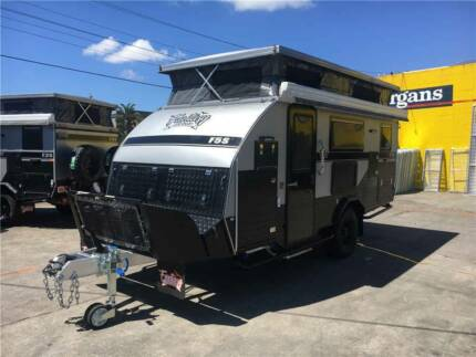 Fantasy 15ft Off Road Caravan Pop Top Camper Hybrid Shower Bunks Moorabbin Kingston Area Preview