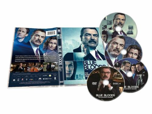 Blue Bloods Season 11 (DVD,4-Disc,Region 1) Fast shipping Brand New sealed usps