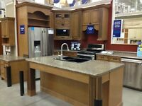 FOR SALE Kitchen cabinets / center island / counter top Complete