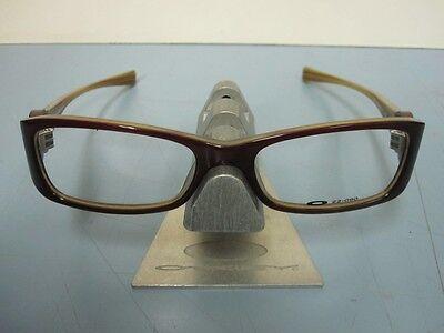 OAKLEY womens SPONTANEUS 4.0 striped plum 22-090 RX eyeglass frame NEW in baggy!