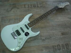 E-Gitarre JOHNSON JS-10-PWH pearl white