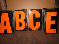 21'' mobile sign letters