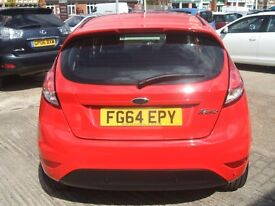 FORD FIESTA ZETEC (red) 2014