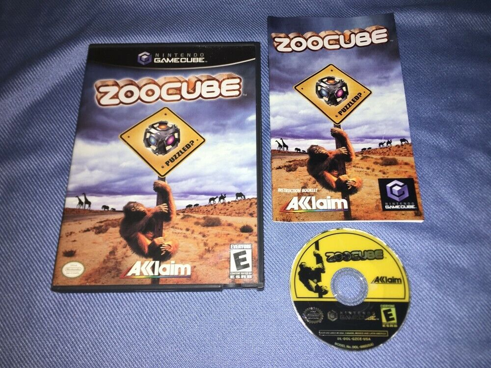 Zoocube Nintendo GameCube *COMPLETE IN BOX, CIB* Good Condition!!