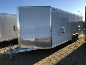 2017 High Country HCH 8.5x22 AS PV Enclosed Snowmobile Trailer