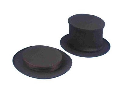 Top Hat For Kids (Top Hat Collapsible Black Deluxe Child Costume Accessory Fancy Dress Up)