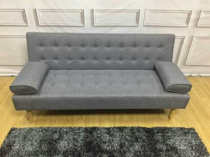 Brand New 206 Plus Fabric Gray Sofa-Bed