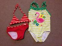 Two girls bathing suits