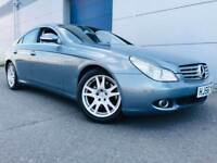 2006 56 Mercedes-Benz CLS 3.0 CLS320 CDI Coupe 4dr Diesel 7G-Tronic (200 g/km, 221 bhp) F.S.H
