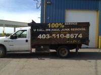 Junk& garbage removal, tree removal