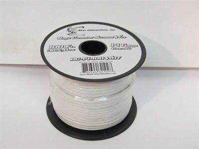 Best Connections BC-14-100WHT, 14 Gauge x 100' Single Conductor Stranded