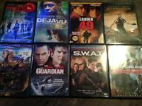 Action Thriller Movies Lot