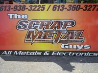 The Scrap Metal Guys -Free Removal of Scrap Steel,TV's,Computers