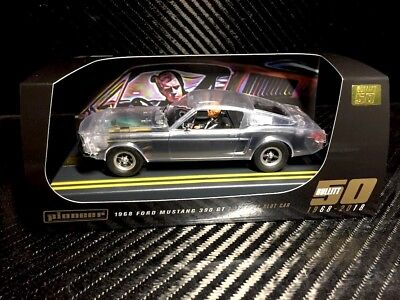 Pioneer Slot Car P104 Bullitt Mustang Super Rare X Ray Spacial Editon 120 only segunda mano  Embacar hacia Spain