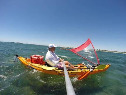 Ocean Kayak Prowler 13 Sailing/Fishing (Rottnest Swim) 'Perfect'