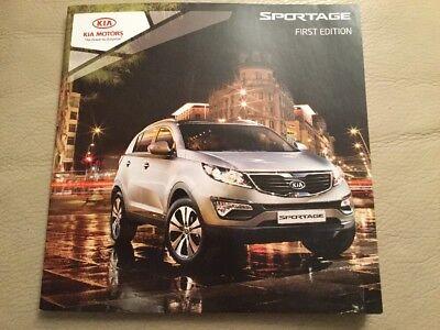 Kia Sportage Car Brochure - 2010 - excellent condition