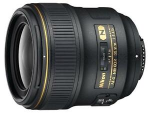 New Nikon AF-S FX NIKKOR 35mm f/1.4G Lens Condition: New